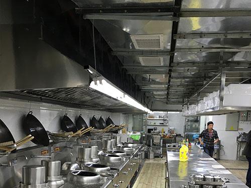 厨房排烟风管安装